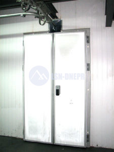 Холодильные двери монорельс