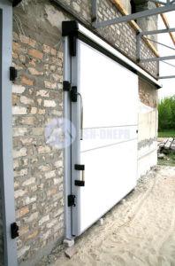 Промышленные холодильные двери откатные
