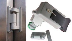 Фурнитура для холодильных дверей и камер