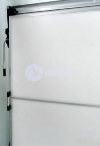 Откатной холодозащитный дверной блок