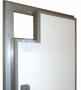 Двери холодильные двухстворчатые