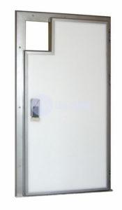 Двери распашные монорельс