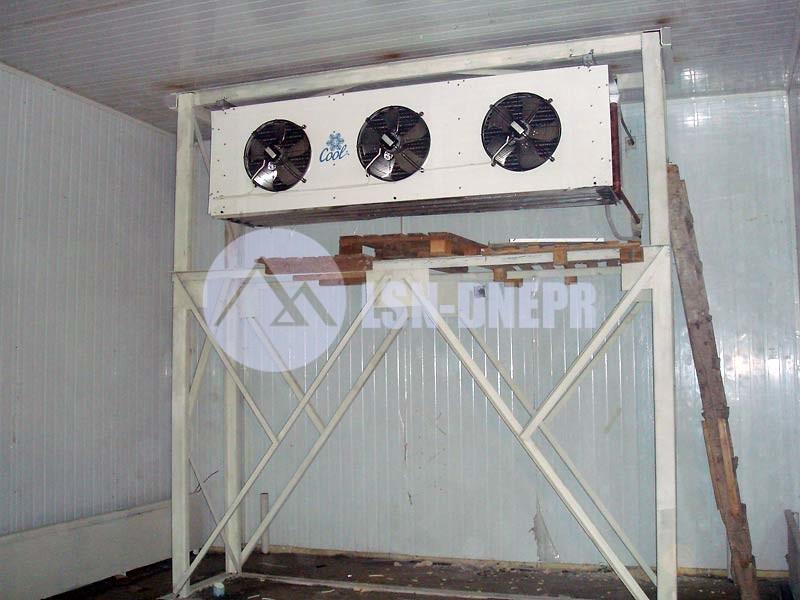 Электромонтажные и монтажные работы с холодильными установками и машинами